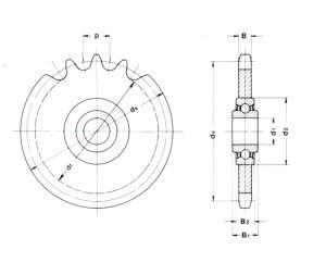 Kettenspannrad-300x253